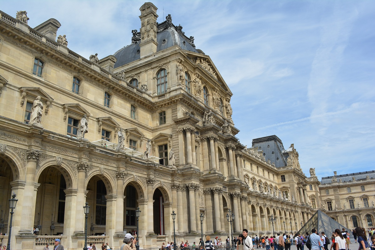 The louvre museum in paris architecture journey home to singapore - Louvre architekt ...